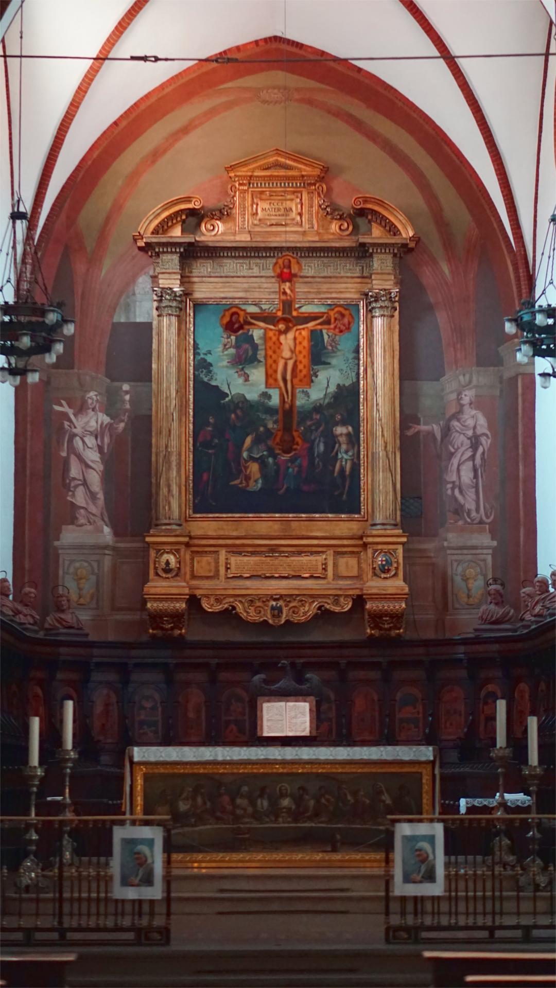 Hauptkapelle / Presbyterium von San Giovanni in Monte