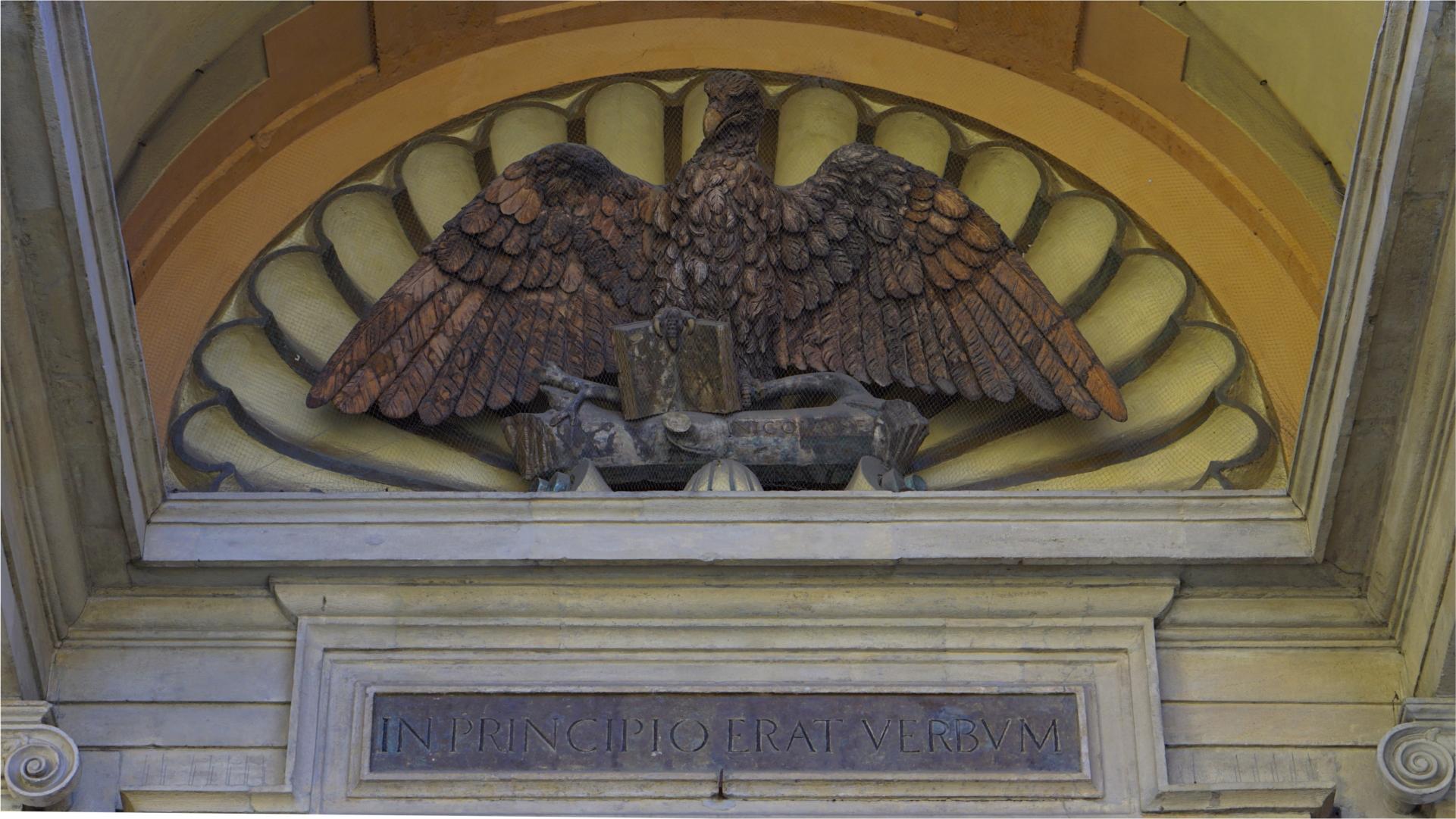 Portal mit Evangelistensymbol Adler — Euare — Blogger