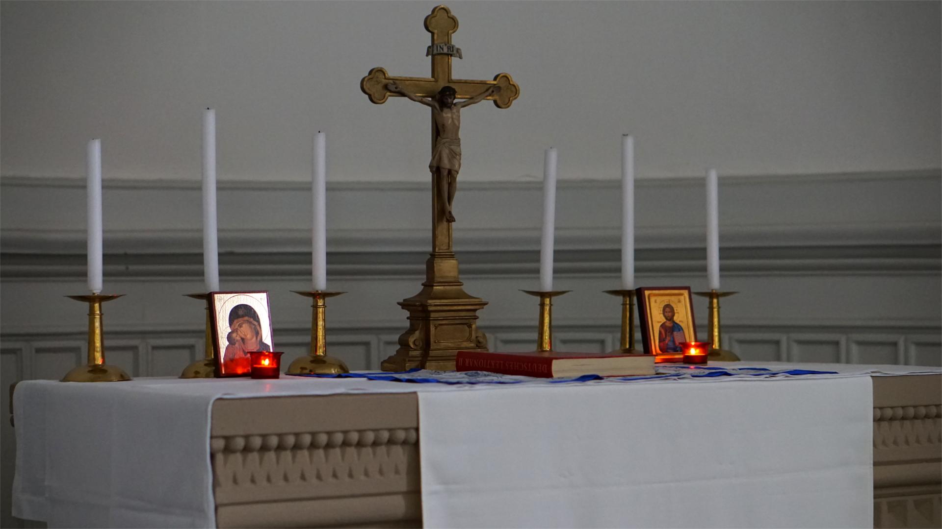 Altaransicht — Heimsuchung Marien