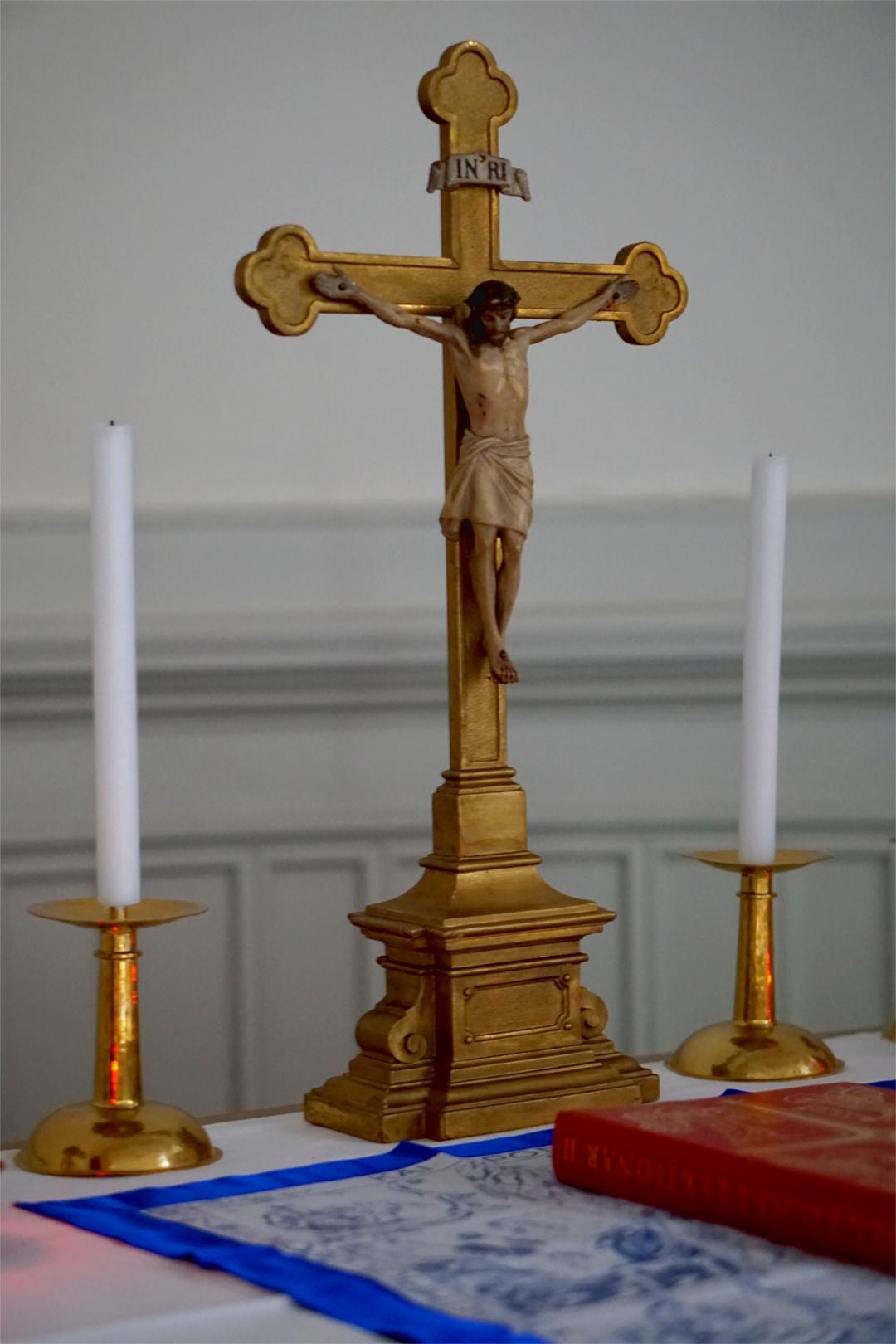 Altaransicht Hochkirche Johannesbruderschaft — Heimsuchung Marien