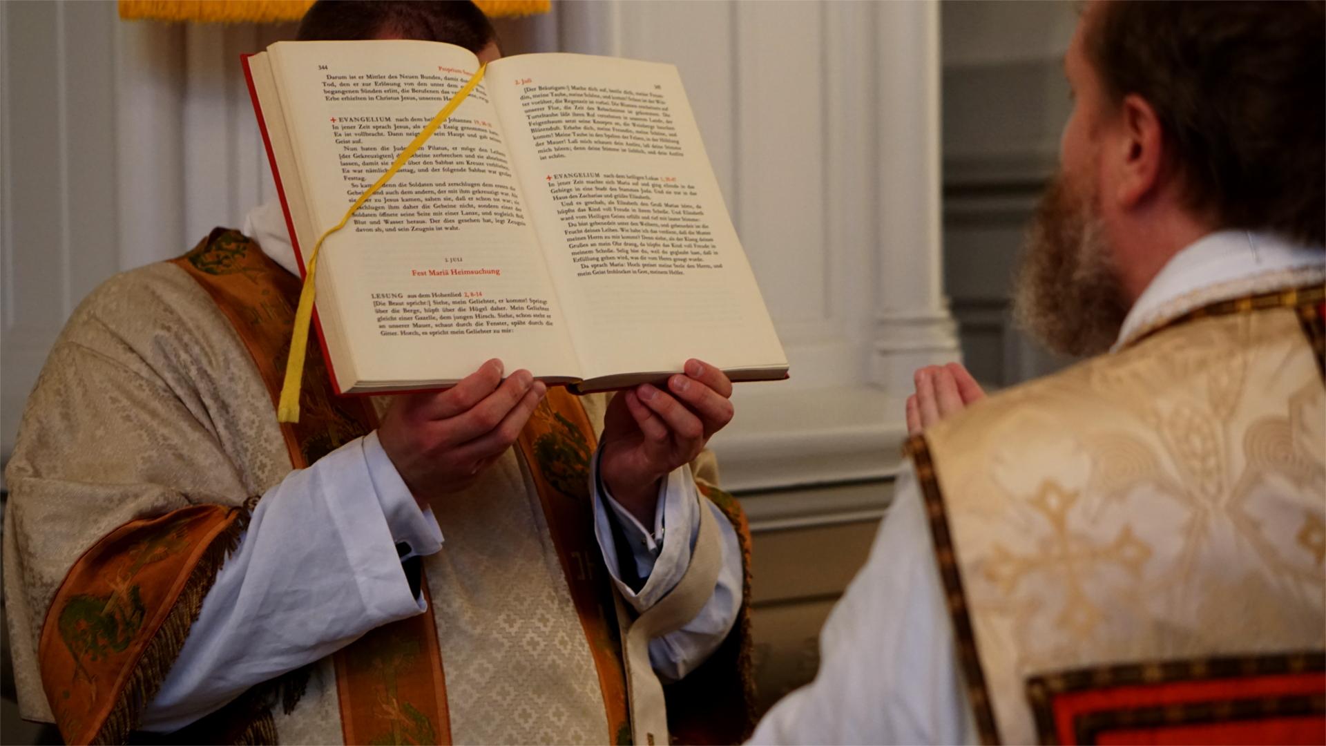 Verkündigung des Evangeliums — Heimsuchung Marien