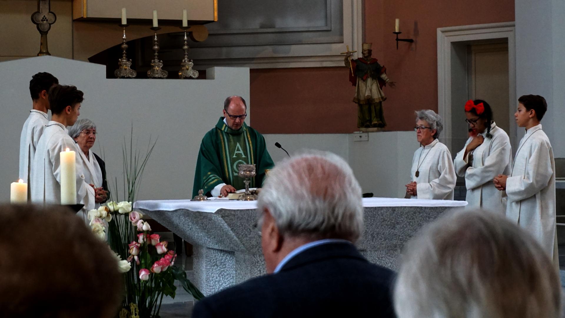 Eucharistiegebet Hochamt St. Clemens, Hannover — Experiment