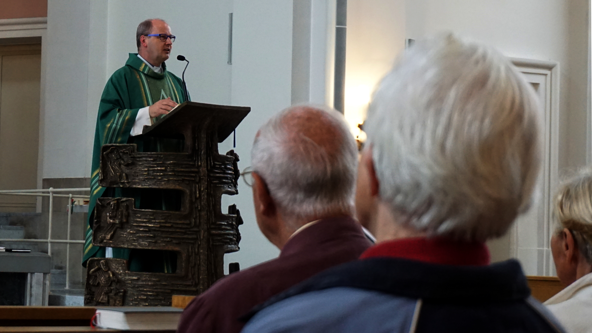 Predigt des Propst im Hochamt St. Clemens, Hannover — Experiment