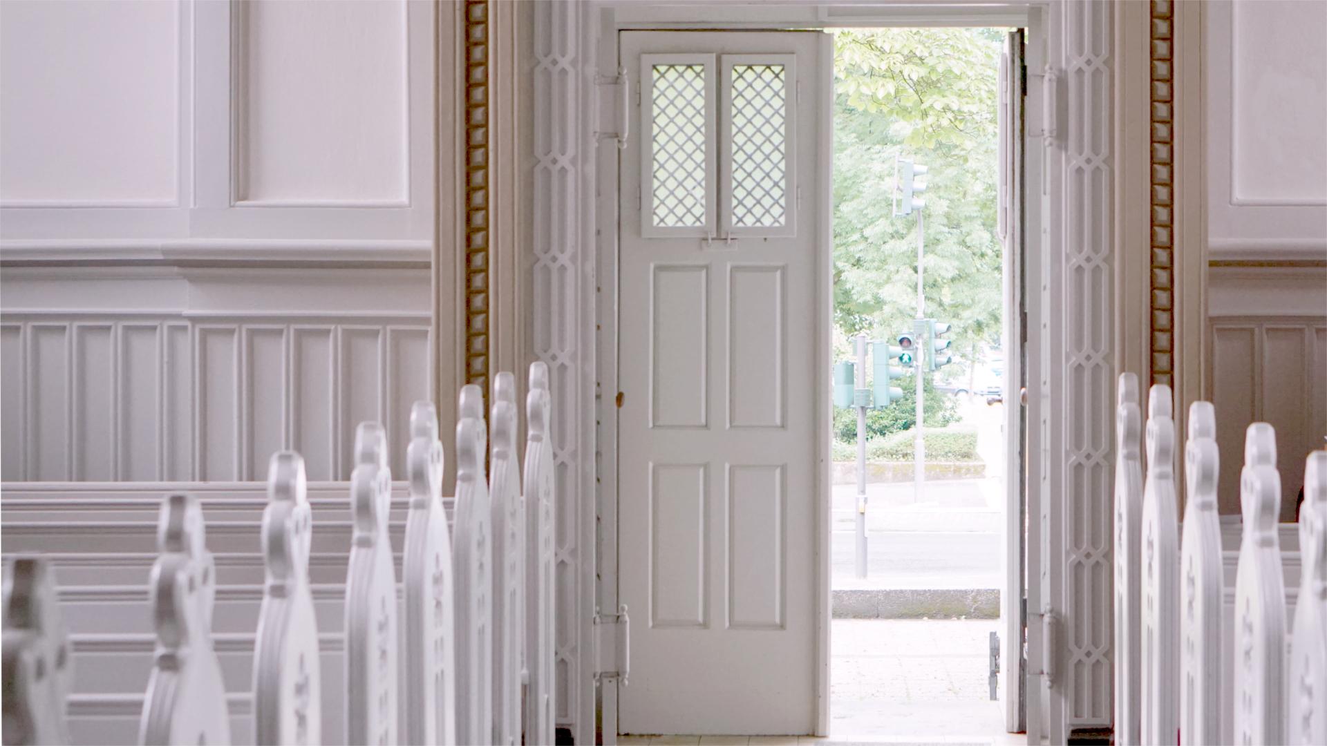 Portal der Rigal'schen Kapelle — Heimsuchung Marien