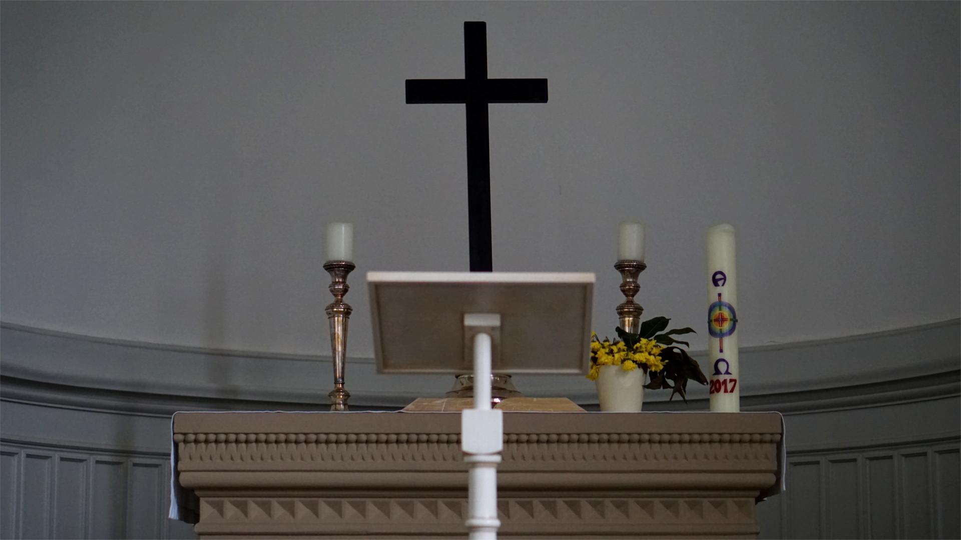 Altar vor der Bereitung — Heimsuchung Marien