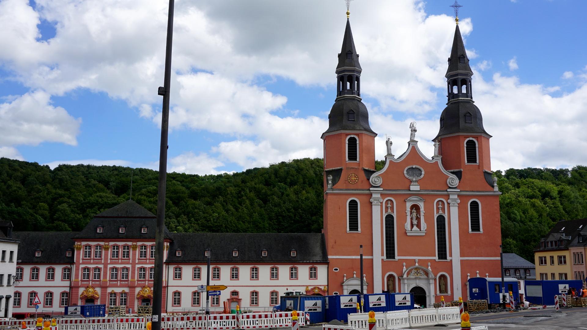 Totale der Abtei Prüm