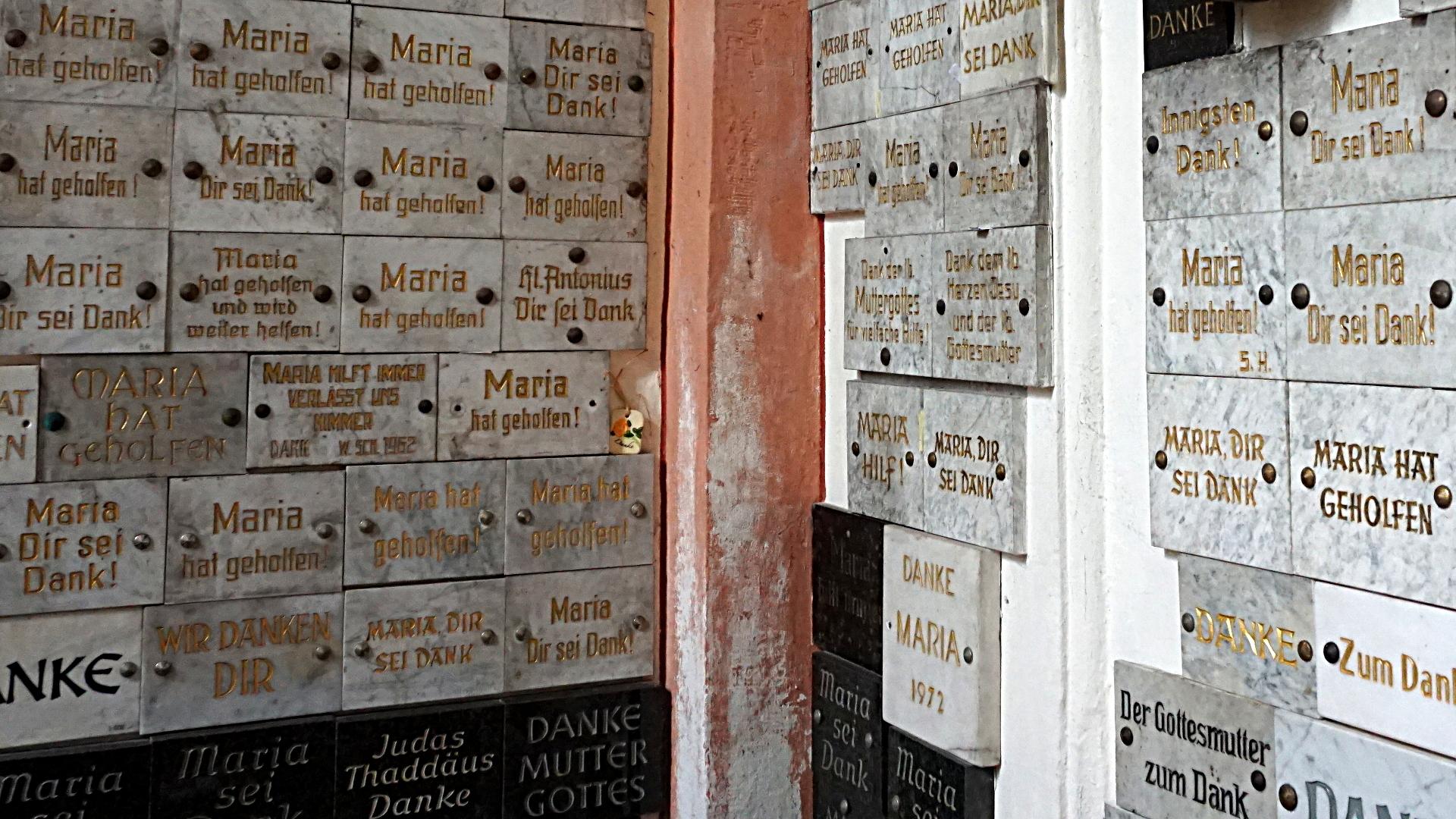 Maria Dankestafeln in Prüm