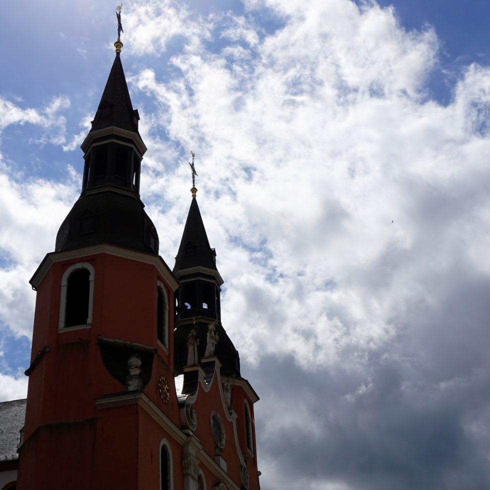 Kirchtürme St Salvator — Reichsabtei Prüm