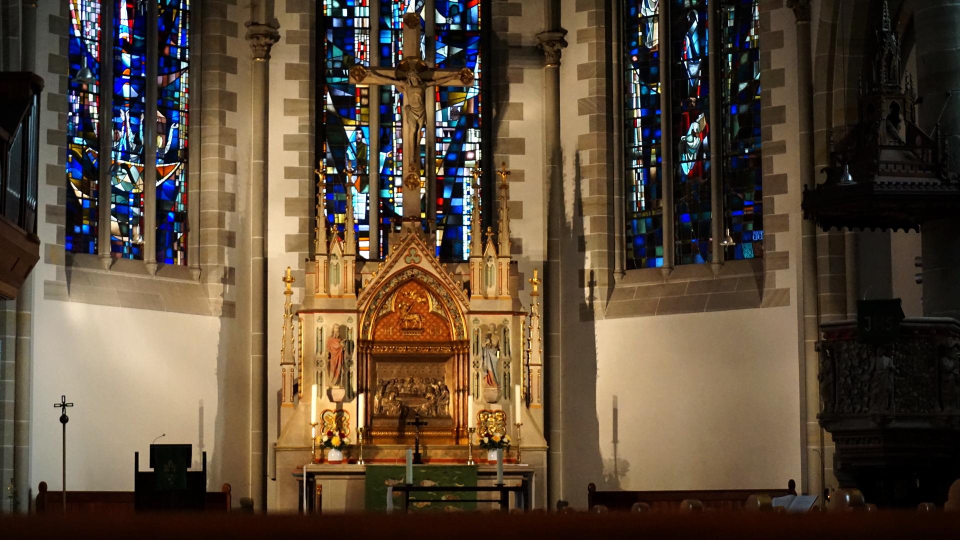 Hochaltar Gartenkirche