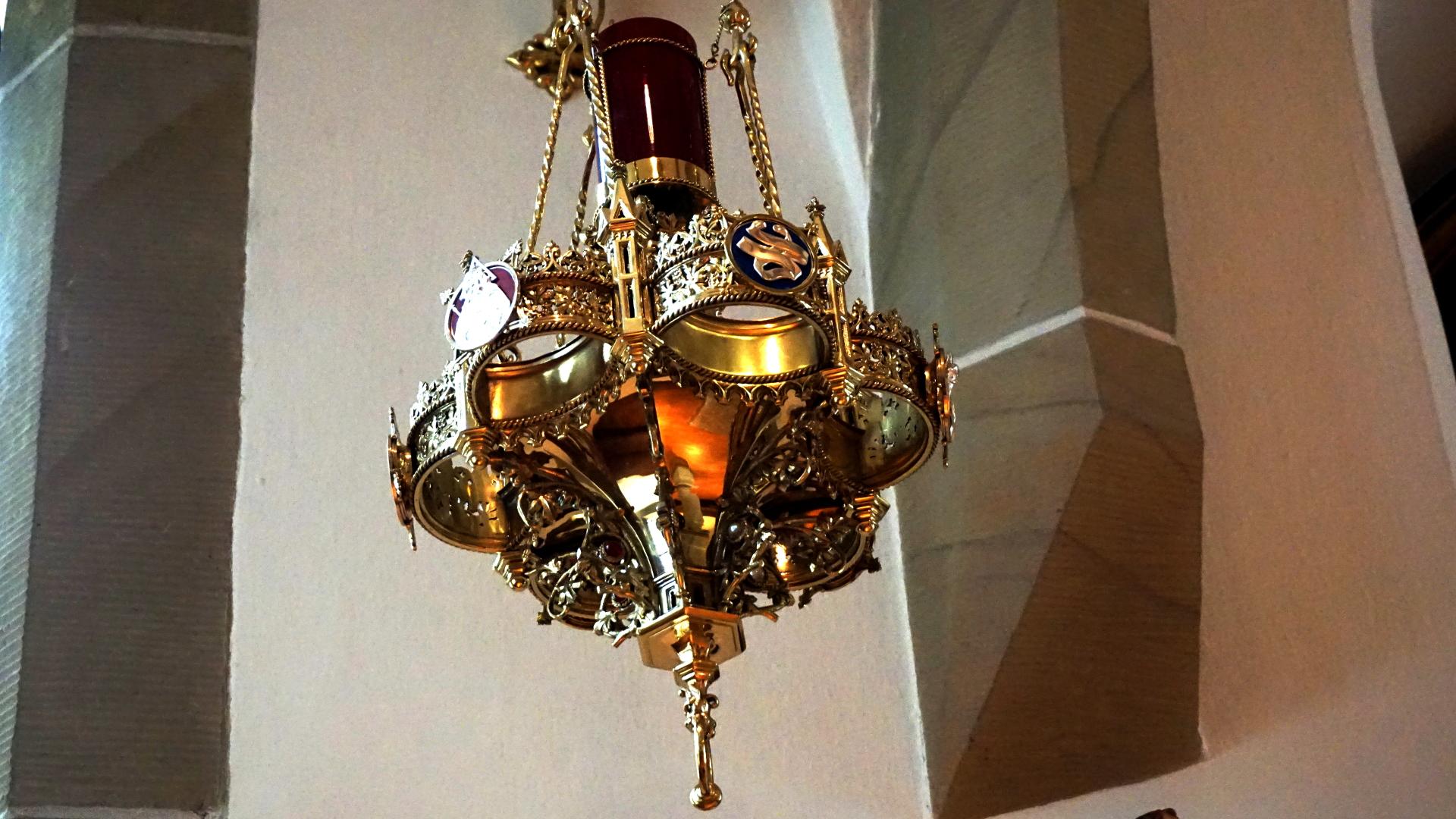 Ewiglampe in der Gartenkirche