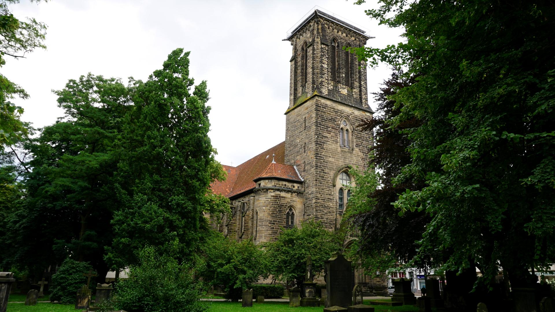 Totale der Gartenkirche in Hannover