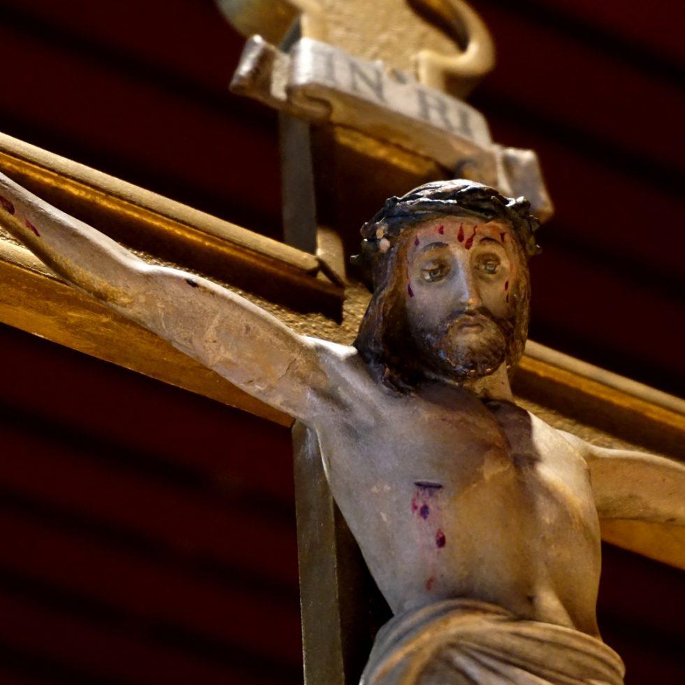 Kruzifix in St. Canisius Köln — Paradisum