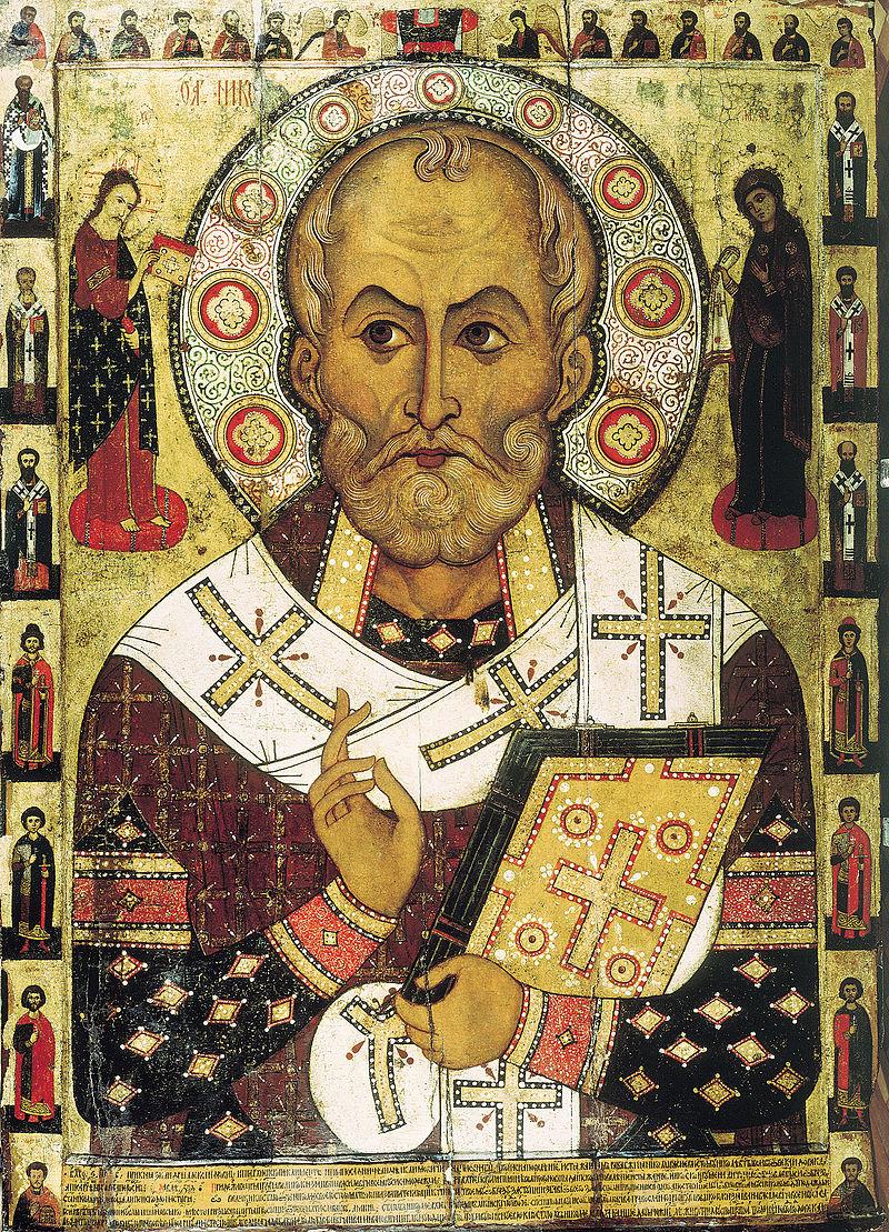 Russische Ikone — Nikolaus von Myra