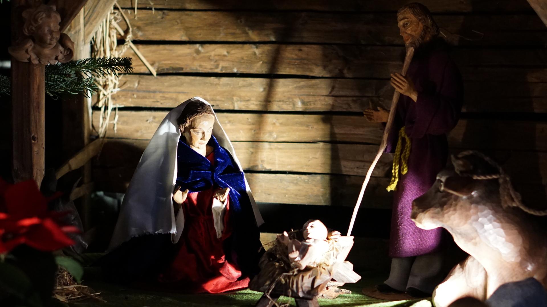 Krippe Heilig Kreuz Limperich — Weihnachten 2017